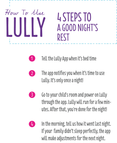 Lully Sleep Guardian how to use
