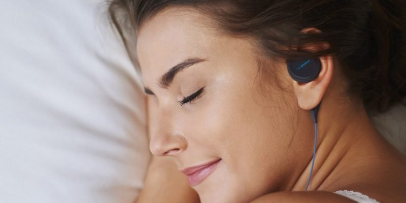 Bedphones thin sleeping headphones