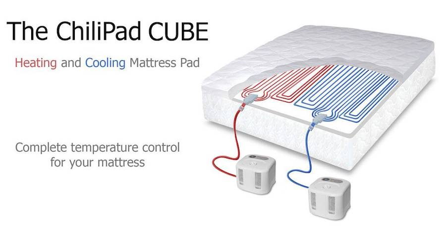 ChilliPad-Cube-Dual Zone Heating and Cooling