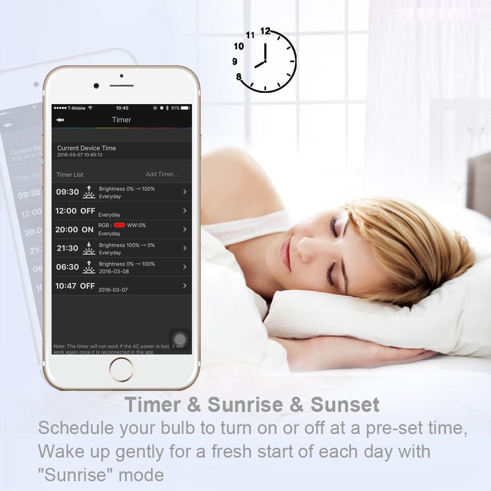 MagicLight Pro Sunrise and Sunset Alarm