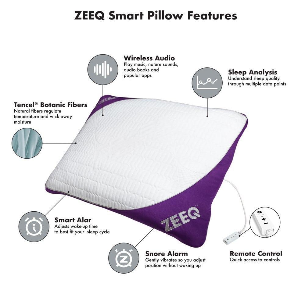 ZEEQ Smart Pillow Features
