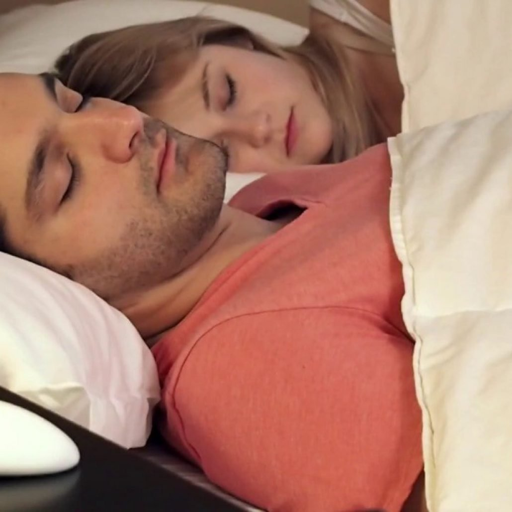 Smart Nora anti-snoring device