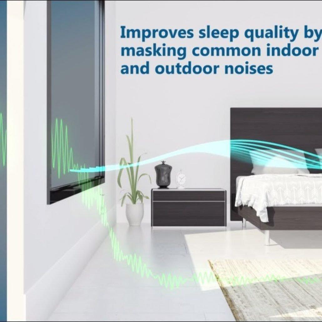 Nightingale noise masking