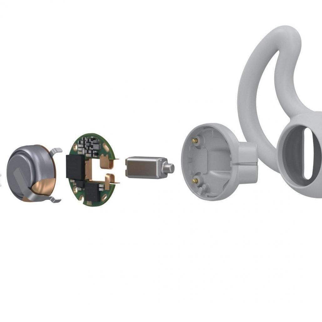 Bose SleepBuds components