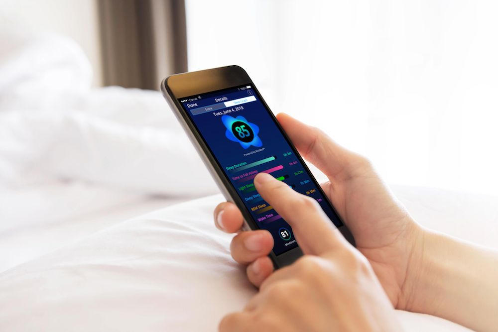 sleepscore app