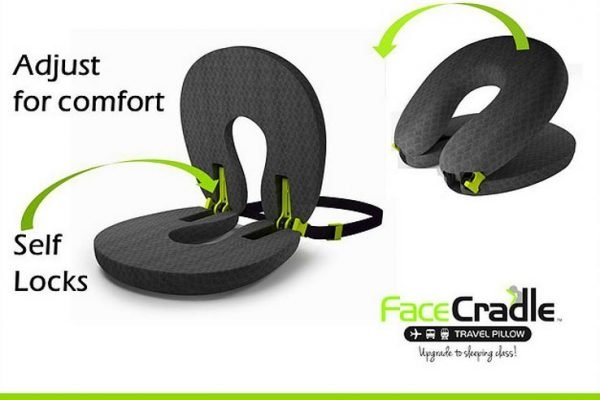 FaceCradle Travel Pillow