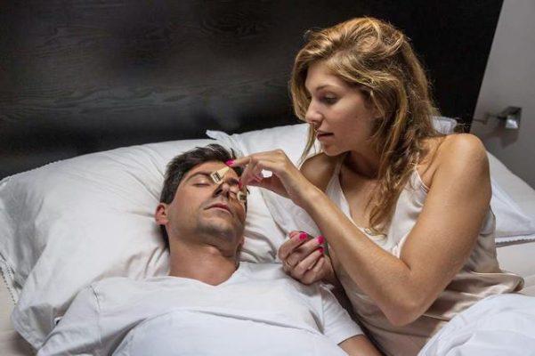silent-partner- snoring patch indiegogo