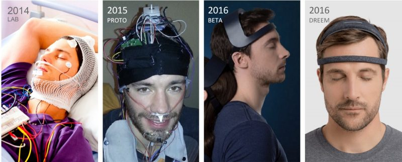 The evolution of the Dreem headband