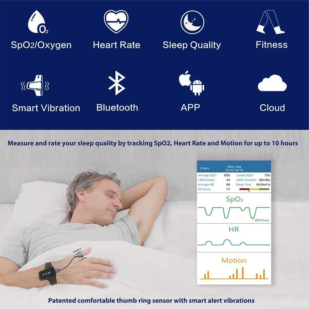 Review: BodiMetrics O2 Vibe oxygen & heart rate sleep