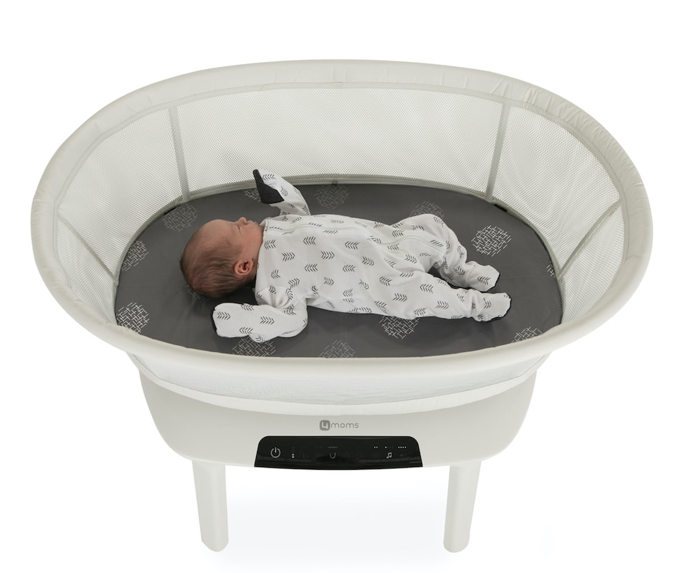 mamaRoo sleep baby bassinet