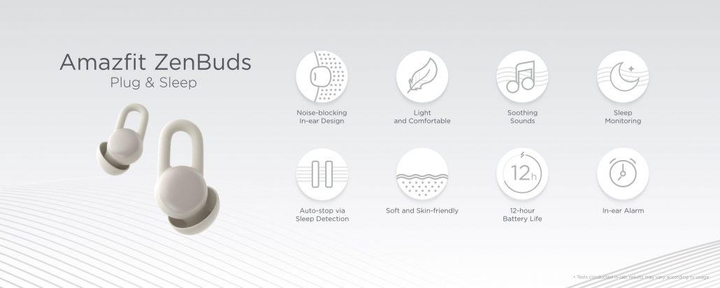 Amazfit ZenBuds features_