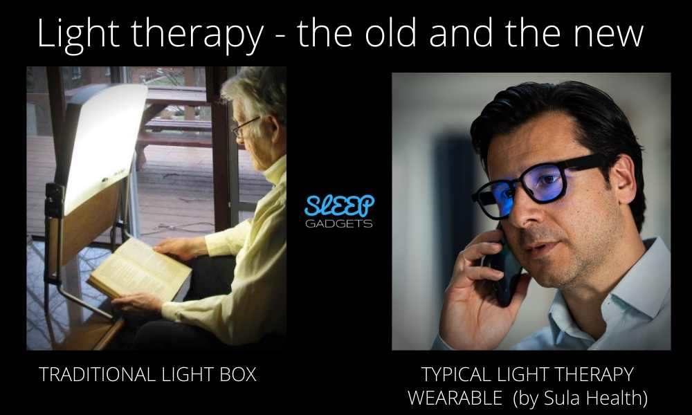 Light box vs light therapy glasses_