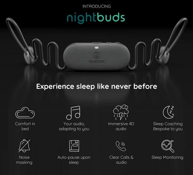NightBuds features