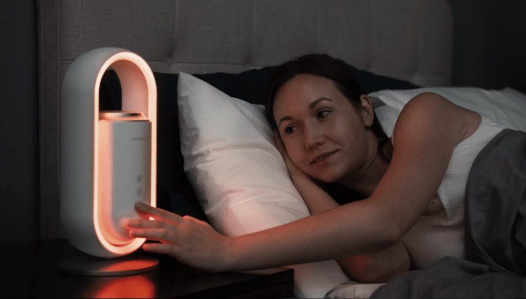 Aromeo aromatherapy sleep light